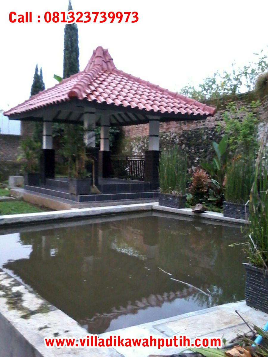 villa batu kasur ciwidey